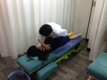 仙腸関節の整復